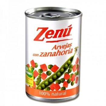 Arvejas con Zanahoria Zenu...