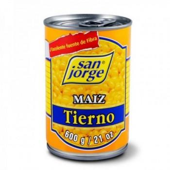 Maiz Tierno x 600 gr San Jorge