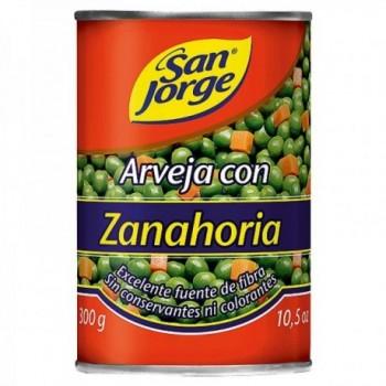 Arveja con Zanahoria San...