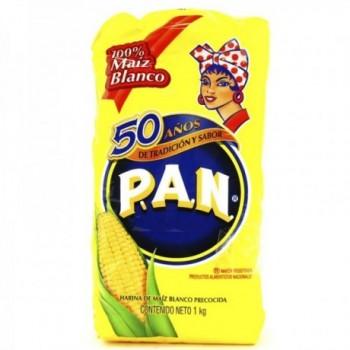 Harina PAN Maiz Blanco 1 Kg