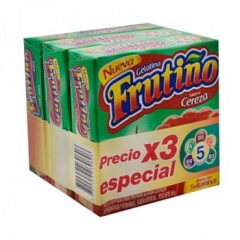 Gelatina Frutiño pack x 3