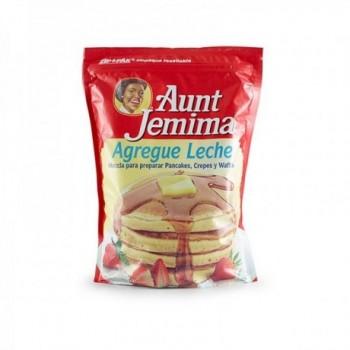 Pancakes Aunt Jemima Leche...