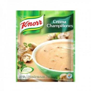Crema Champiñones Knorr