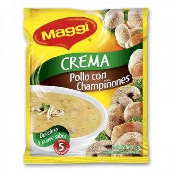 Crema Pollo Champi