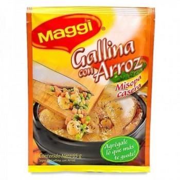 Sopa Casera Gallina con...