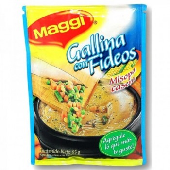 Sopa Gallina con fideos...