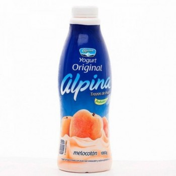 Yogurt de Melocoton Alpina...
