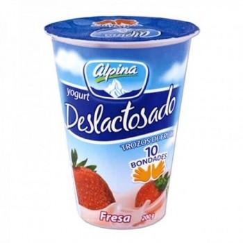 Yogurt Deslactosado Fresa...