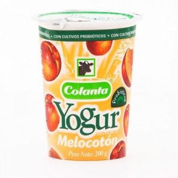 Yogur de Melocoton Colanta...