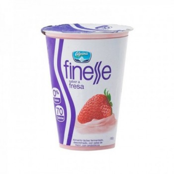 Finesse Yogurt de Fresa 180 gr