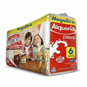 Leche Entera Alqueria 1.1 L...