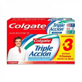 Colgate Triple Accion 3*100ml.