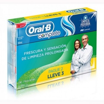 Oral B Complete 3x100ml.