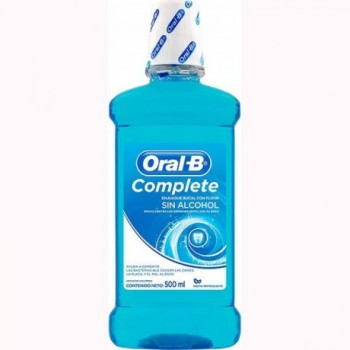 Enjuague Oral B Sin Alcohol.