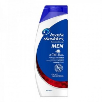 H&S Shamp Men Old Spice 400ml.