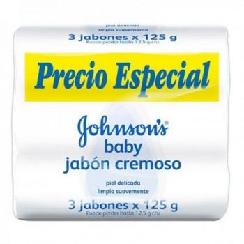 Jabon Johnsons Baby Cremoso...