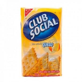 Club Social Queso x 9 Uds