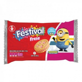 Galletas Festival de Fresa...