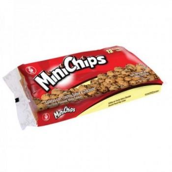 Galletas Mini Chips 12pqts.
