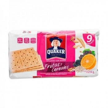 Galletas Quaker Frutas y...