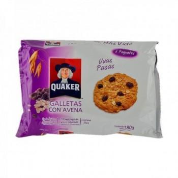 Galletas Quaker Uvas Pasas...