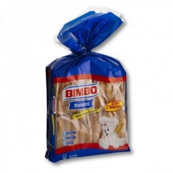 Tostadas Bimbo 2 tacos.