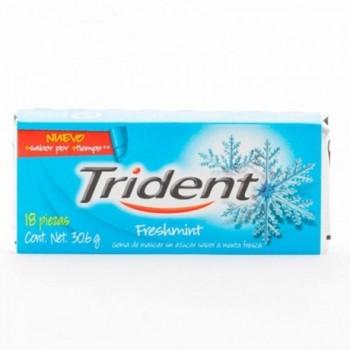 Trident Freshmint 18unds.