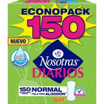 Protectores Nosotras x 150 Und