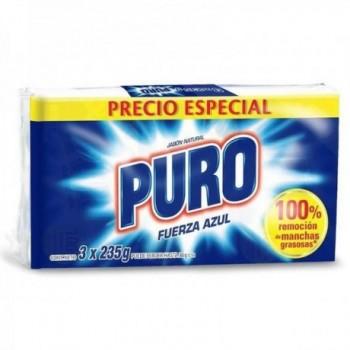 Jabon Puro por 3 * 235 Grs C/U