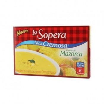 Crema de Mazorca 6 Porciones