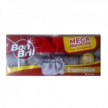 Esponjillas Bon Bril * 16 U