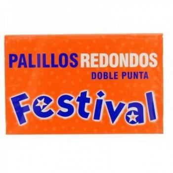Palillo redondo Festival x 180