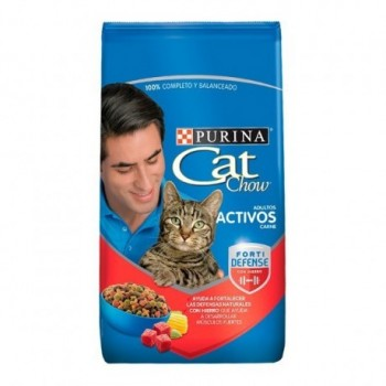 Cat Chow Adultos Carne x...