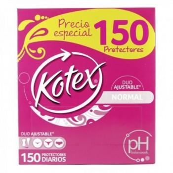 Protectores Kotex Ajustable...