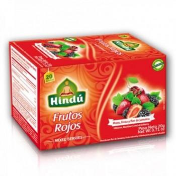 Te Frutos Rojos Hindu x 20...