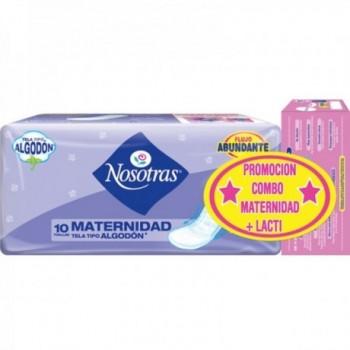 Toallas Nosotras Materna...