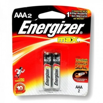 Pilas Energizer AAA x 2