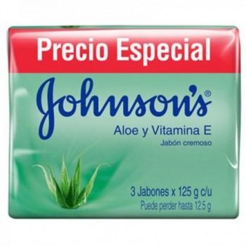 Jabon Johnsons Aloe 3unds...