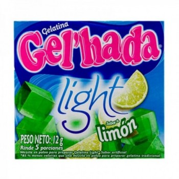 Gelatina Light Limon Gel...
