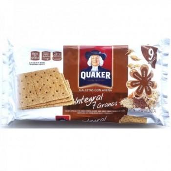 Galletas Quaker 7 Granos x...
