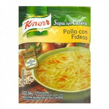 Sopa Pollo Con Fideos Knorr...