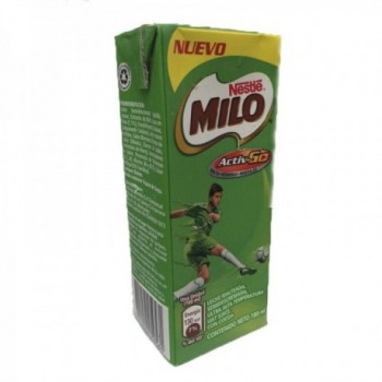 Milo Bebida Lactea Caja 180 ml