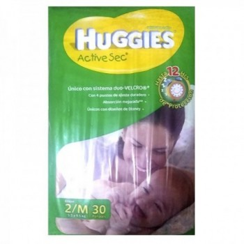 Huggies Etapa 2 Active-Sec...