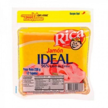 Jamon Ideal Rica x 230 gr