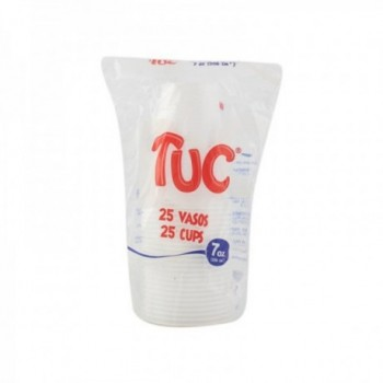Vaso Desechable 7oz Tuc x...