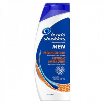 H & S Shamp Men Caida 400 ml