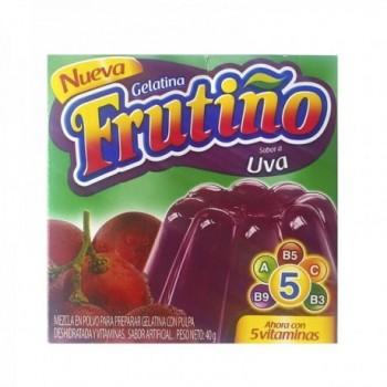 Gelatina Frutiño caja x 1 Uva