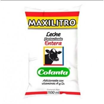 Leche Entera Colanta 1100 ml