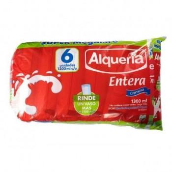Leche Entera Alqueria Six...