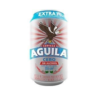 Cerveza Aguila Cero Lata X...